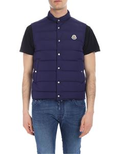 Moncler - Febe down waistcoat in blue