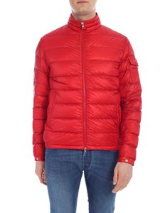 Moncler - Lambot red down jacket