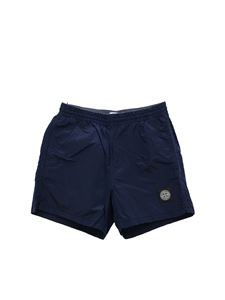 Stone Island Junior - Blue swimsuit