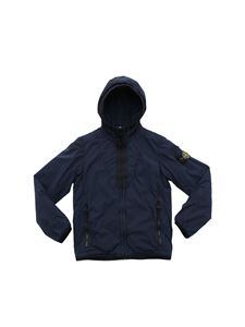 Stone Island Junior - Stone Island blue padded jacket