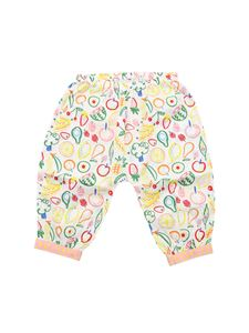 Stella McCartney Kids - Small Fruit white trousers