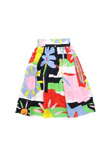 Stella McCartney Kids - Gonna multicolor multi pattern