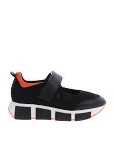 Vic Matiè - Vic Matiè sneakers in black and orange