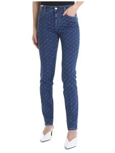 Stella McCartney - Stella McCartney skinny monogram jeans