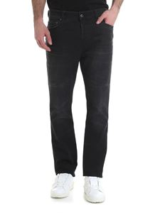Valentino - Black jeans with vintage effect