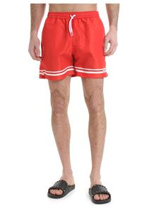 GCDS - Red GCDS swim shorts