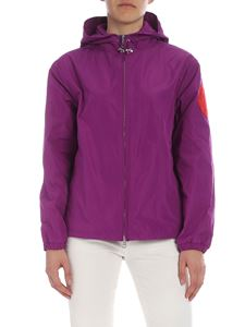Moncler - Alexandrite jacket in purple color