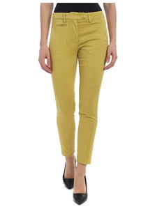 Dondup - Perfect trousers in ocher color