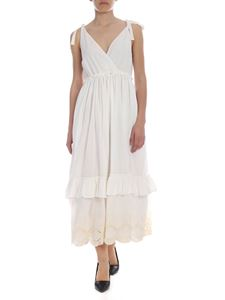 Ballantyne - Ballantyne embroidered white dress
