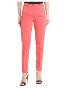 Jacob Cohën - Marina trousers in salmon pink
