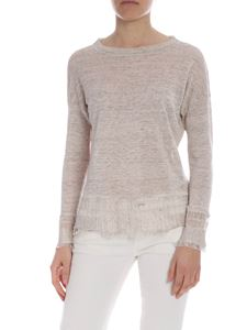 Ballantyne - Ballantyne sweater in ecru-melange color