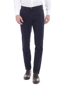 Briglia 1949 - Slim fit trousers with vintage effect
