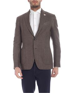 Lardini - Single-breasted jacket with two buttons