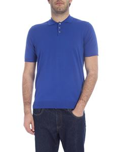 Ballantyne - Comfort fit polo with three buttons