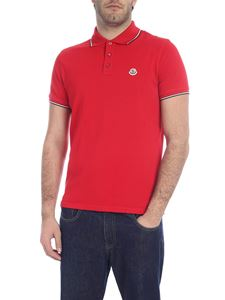 Moncler - Comfort fit polo with three buttons