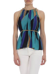 M Missoni - Blue M Missoni top