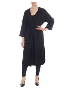 Semicouture - Overcoat with removable belt