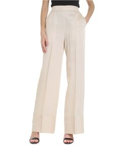 Semicouture - Wide trousers with pleat