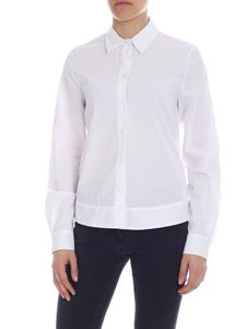 Semicouture - White shirt with bow