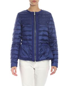 ADD - Blue quilted Add down jacket