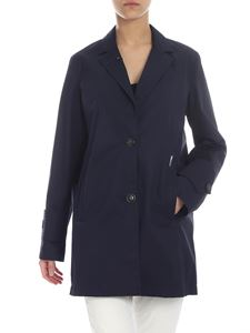 Woolrich - Kane blue Woolrich trench coat