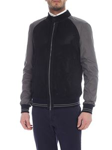 Herno - Black and anthracite Herno jacket