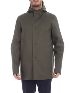 Herno - Green and beige reversible coat