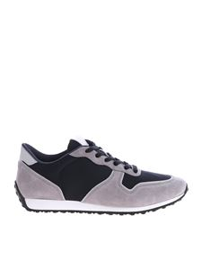 Tod's - Blue and grey sneakers