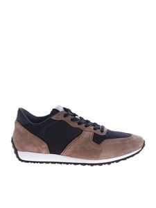 Tod's - Taupe suede sneakers