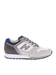 Hogan - White and grey H321 sneakers