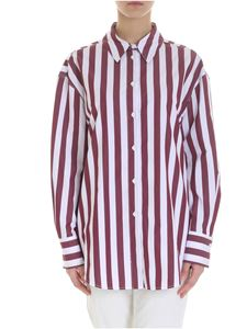 Tela - Nocciolo striped shirt