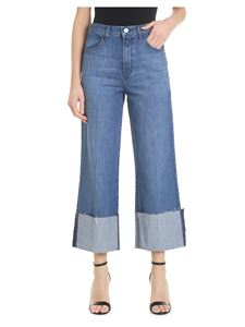 J Brand - Joan Crop jeans in blue