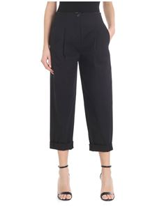 Tela - Varco crop trousers with pleats