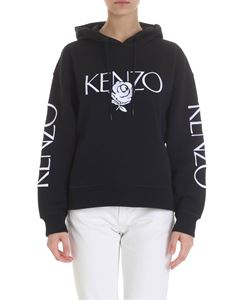 Kenzo - Kenzo embroidered black sweatshirt