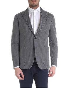 Tagliatore - Two-button jacket in blue and grey