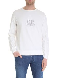 CP Company - T-shirt in white cotton