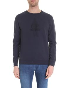CP Company - T-shirt in blue cotton