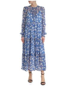 Baum Und Pferdgarten - Long dress with floral print in light blue