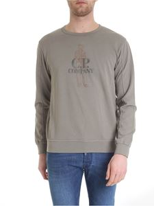CP Company - Cotton T-shirt in dove grey