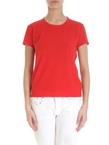 Zanone - Crew-neck T-shirt in red cotton