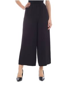 Incotex - Selita crop trousers in black silk blend