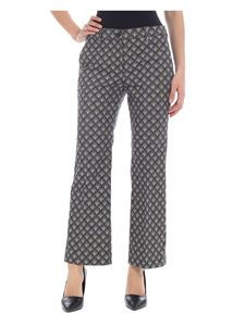 Incotex - Olympe patterned trousers in green