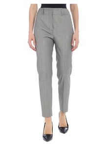 Incotex - Dinora trousers in salt and pepper colour