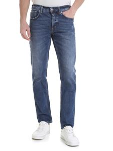 Department 5 - Keith jeans in blue stretch cotton