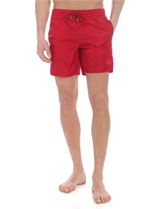 Moncler - Red boxer swimsuit