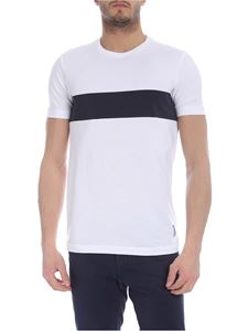 Fay - White printed T-shirt