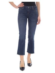 Liujo - Microflair push up jeans in blue