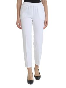 Liujo - White trousers with side veins