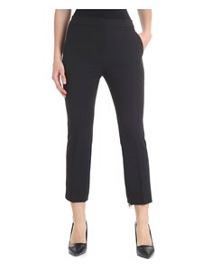 Liujo - Black trousers with side slash pockets
