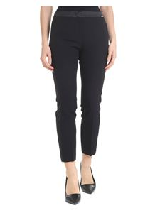 Liujo - Slim trousers with satin details